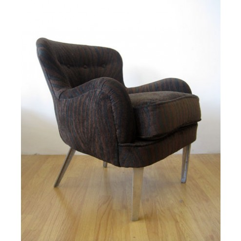Ernest Race  low back arm chair for Race Furniture