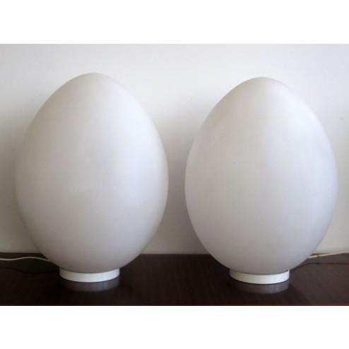 "Ben Swildens ""Uovo / Egg"" floor or table lamps"