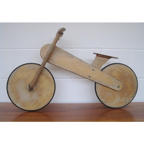 Bespoke Childs plywood bicycle c1970s - England