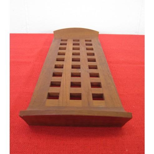 Jens Quistgaard lattice serving tray / board for Dansk Designs c1960s - Denmark