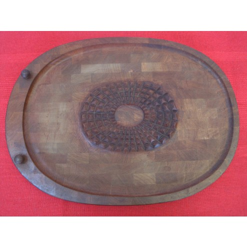 Digsmed Danish teak carving board c1960s - Denmark