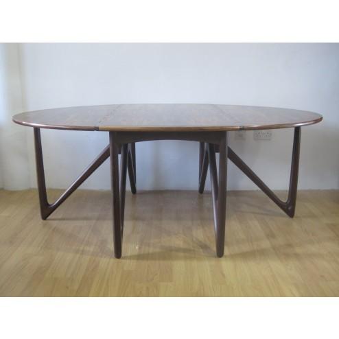 Kurt Ostervig rosewood dining table for Jason Mobler - Denmark c1964