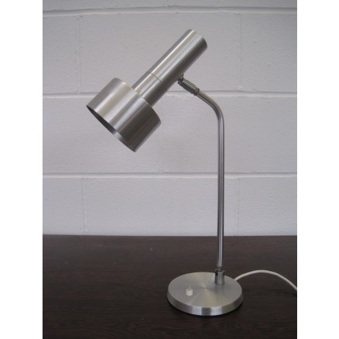 Hala stainless steel adjustable task lamp - Holland c1960s