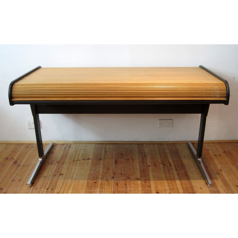 "George Nelson Action fice ""Roll top"" desk for Herman"