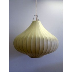 George Nelson style 1950s bubble pendant light - Unattributed design