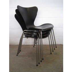 Arne Jacobsen 1st Edition 3107 chairs for Fritz Hansen - Denmark - Set of 4
