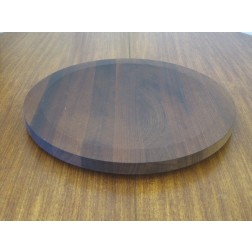 Georg Fontana for Bodum - Denmark, large staved teak chopping / bread board