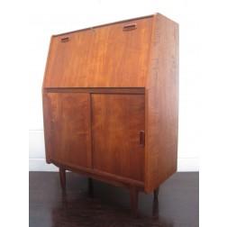 Danish teak bureau desk / secretaire by Dyrlund - Denmark c1964
