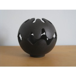 "Christel & Christer Holmgren ""Pumpkin"" candle holder for Illums Bolighus Denmark"