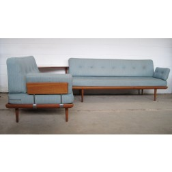 "Peter Hvidt & Orla Morgaard Nielsen ""Minerva"" Sofa set for France & Son c1961 - Denmark"