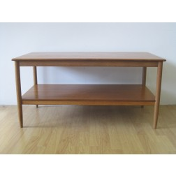 Folke Ohlsson two tier coffee / occasional table for Tingstroms - Sweden c1960s
