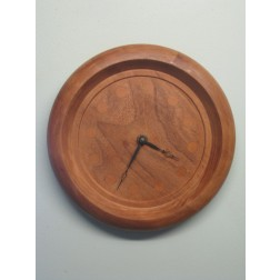 Junghans elm and beech wall clock c1970s - Germany