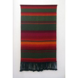 Anniki Karvinen - Finland:  Large Hand loom woven wall hanging - Amazing Colours